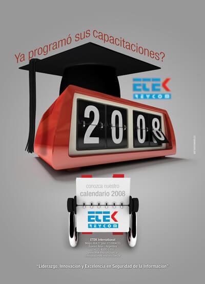 Etek calendario de cursos 2008
