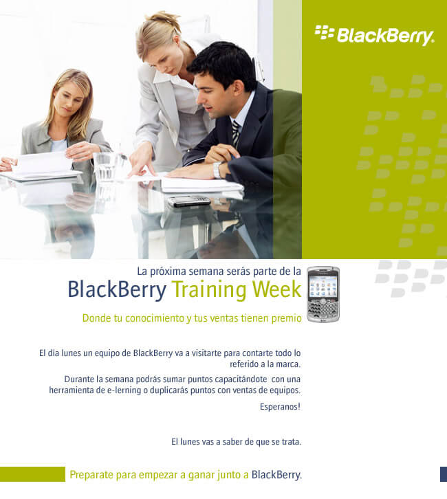 BlackBerry training week