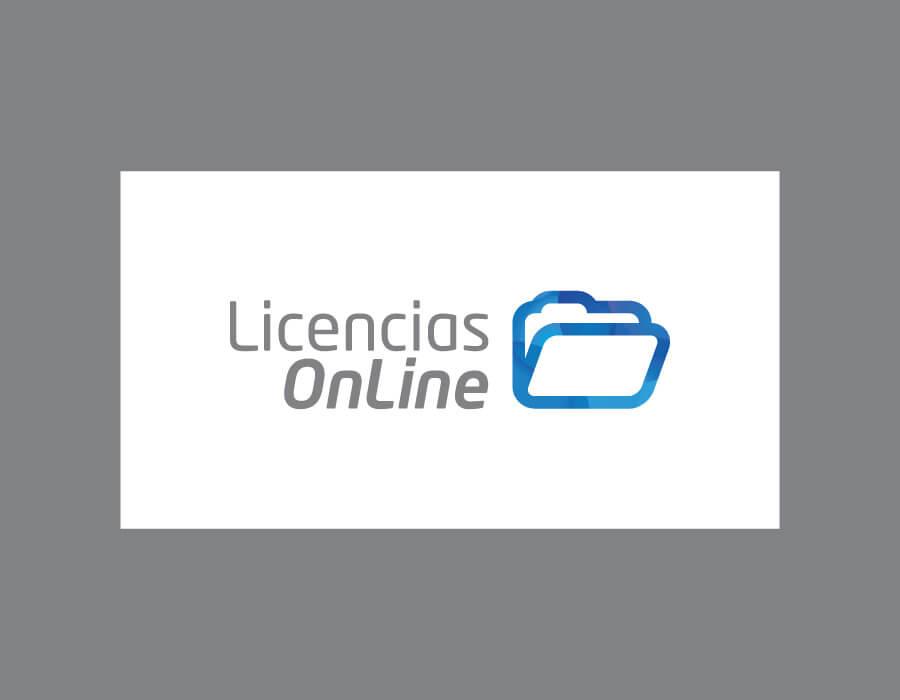 Restyling logotipo Licencias OnLine 2012